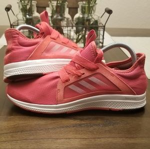 Adidas Edge Lux Coral Red Size 8 Running